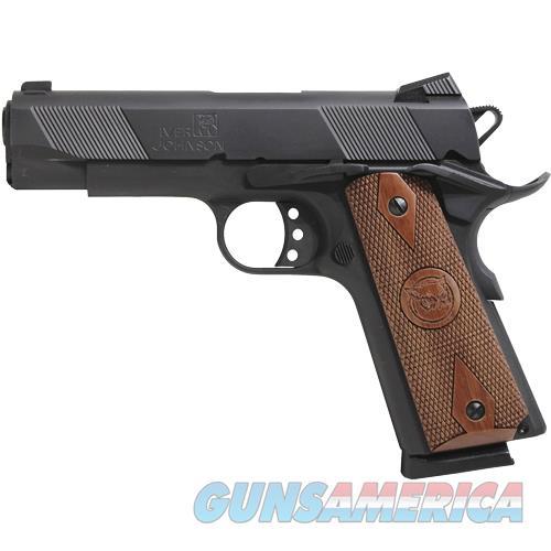 "Iver Johnson Arms Johnson 1911A1 Hawk .45Acp 4.25"" Fs 8Rd Matte GIJ08  Guns > Pistols > IJ Misc Pistols"