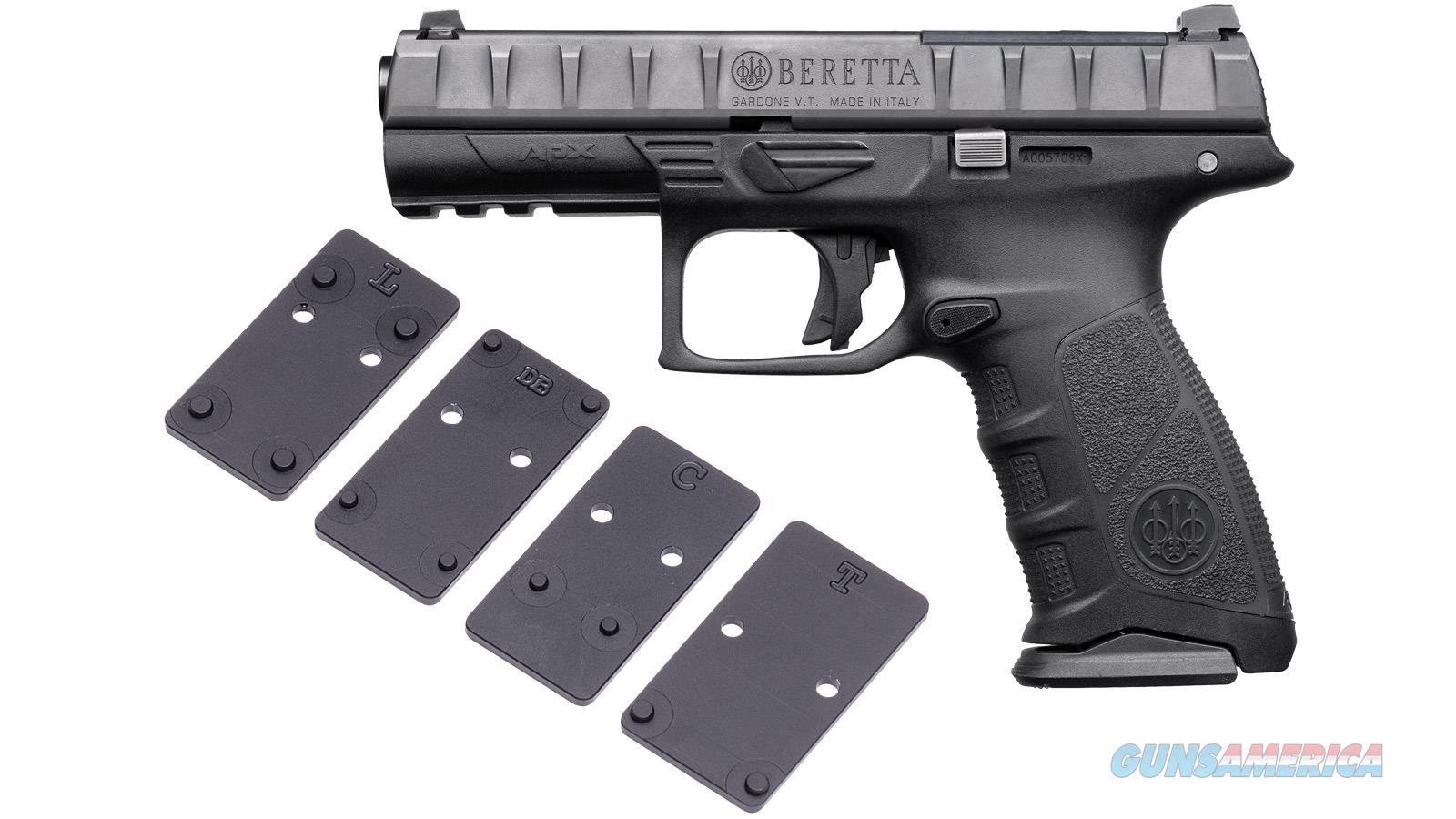 """Beretta Apx Fs Rdo 9Mm 4.25"""" 10Rd JAXF92070  Guns > Pistols > B Misc Pistols"""