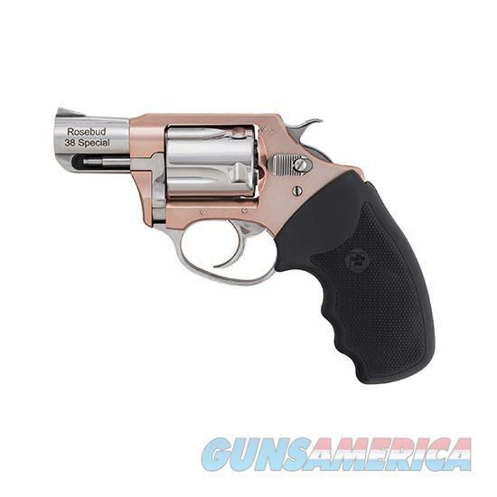 Charter Arms Undercover Lite 38Spl 2 Rosebud Full Grip Fs 53859  Guns > Pistols > C Misc Pistols