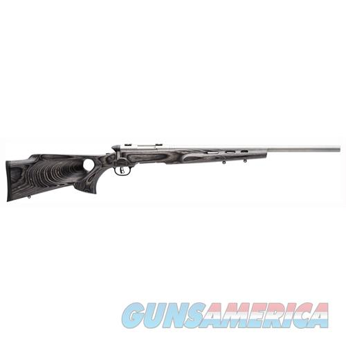 "Savage 96972 B.Mag Target 17 Wsm Bolt 17 Winchester Super Magnum (Wsm) 22"" 8+1 Laminate Thumbhole Gray Stk Stainless 96972  Guns > Rifles > S Misc Rifles"