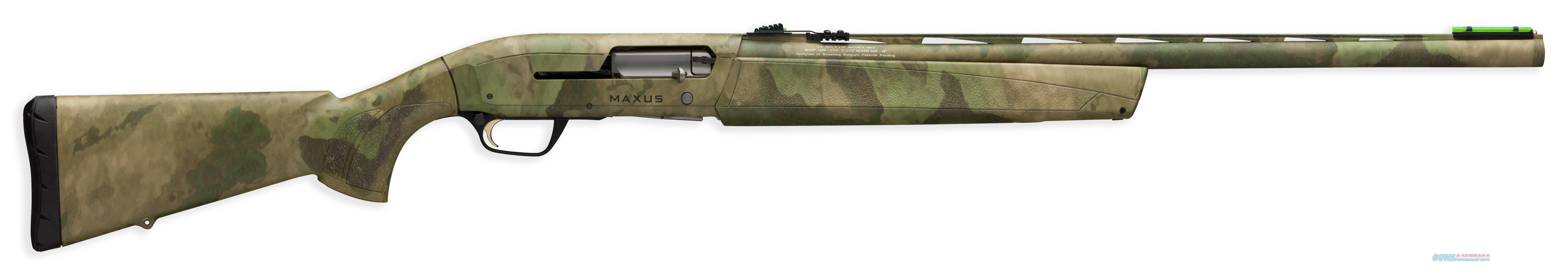 "BROWNING 011668205 MAXUS SEMI-AUTOMATIC 12GA 26"" 3.5"" CAMOUFLAGE SYNTHETIC STK/ALUMINUM ALLOY RCVR 011668205  Guns > Shotguns > Browning Shotguns > Autoloaders > Hunting"