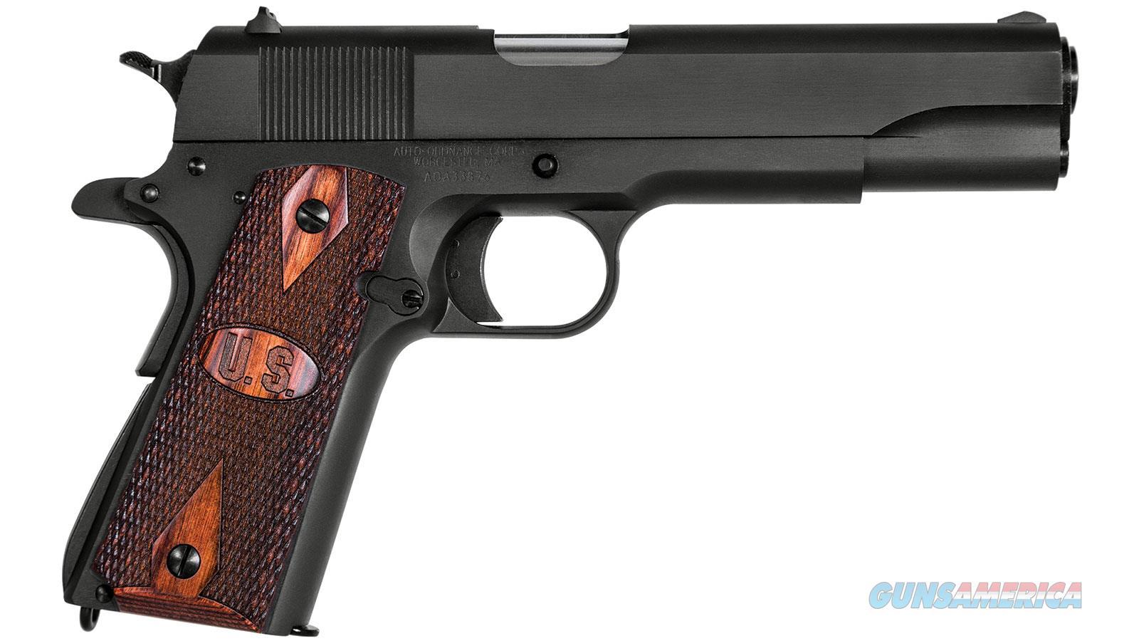 """Auto Ordnance / Thompson 1911Bkow 45Acp 5"""" 7Rd 1911BKOW  Guns > Pistols > A Misc Pistols"""