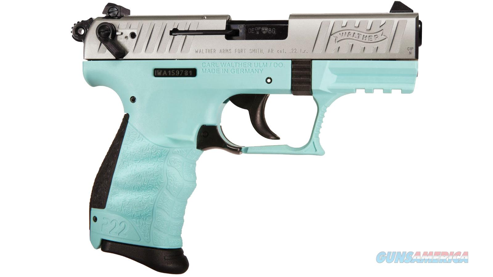 """Walther Arms P22 22Lr Ca 3.4"""" 10Rd 5120362  Guns > Pistols > W Misc Pistols"""