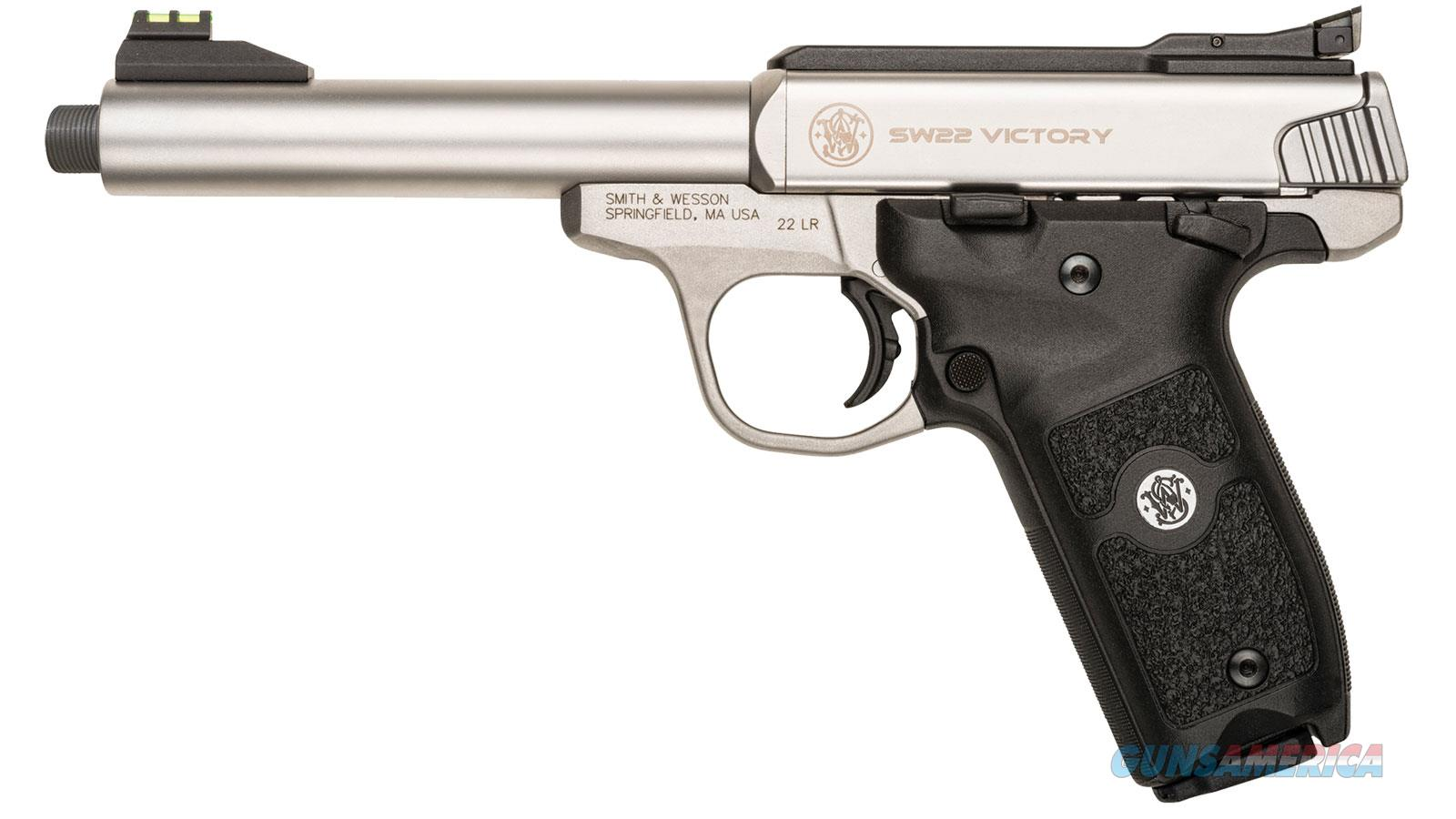 "Smith & Wesson Sw22 Victory 22Lr 5.5"" 10Rd 10201  Guns > Pistols > S Misc Pistols"