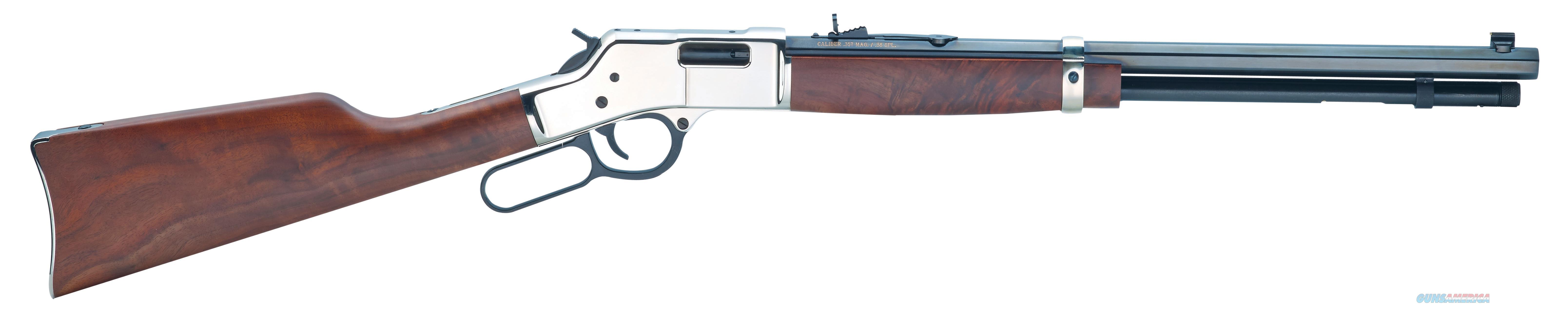 HENRY BIG BOY SILVER H006MS  Guns > Rifles > Henry Rifles - Replica