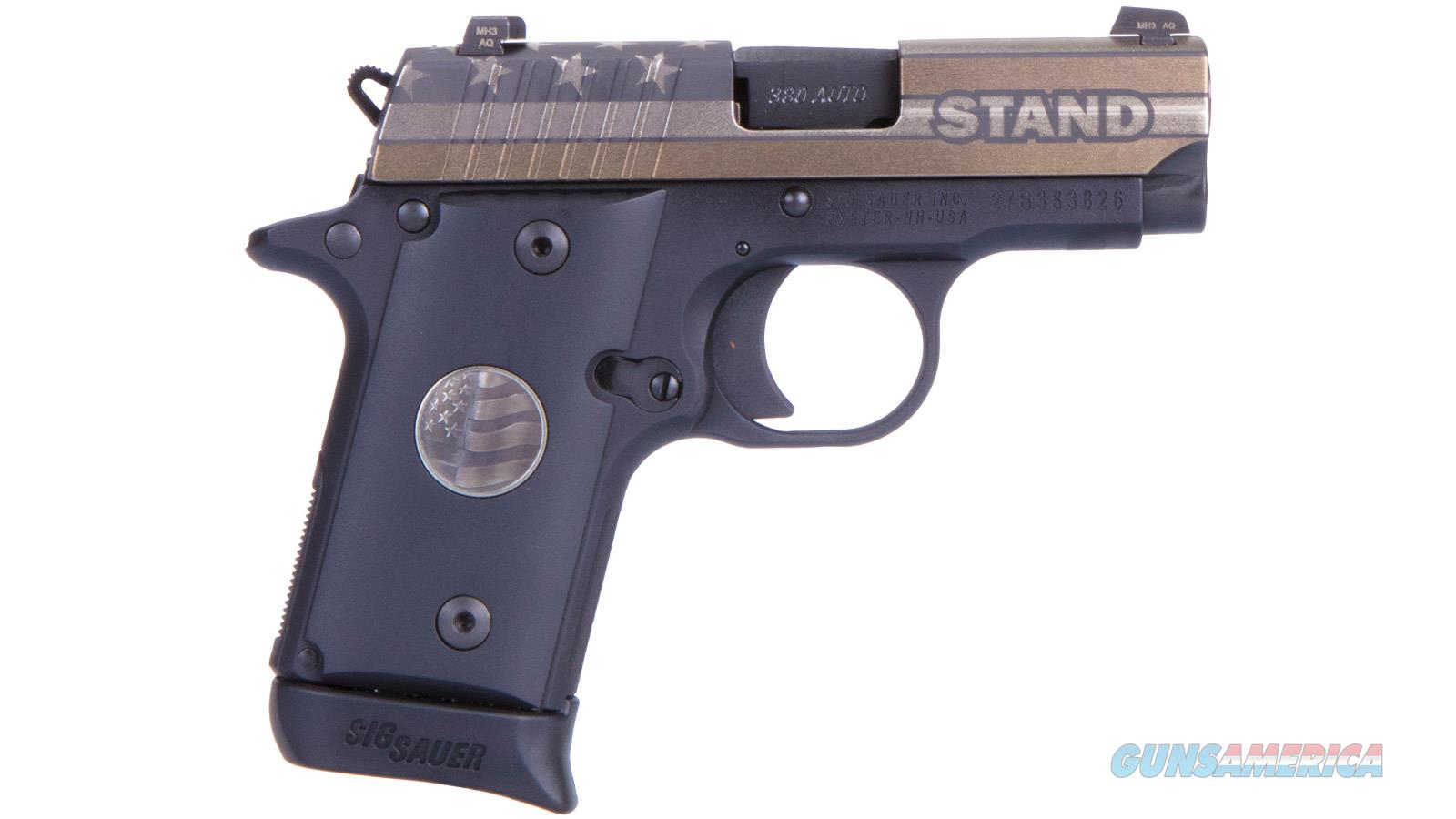 "Sig Sauer 238 Stand 380Acp 2.7"" 7Rd 238-380-STAND  Guns > Pistols > S Misc Pistols"