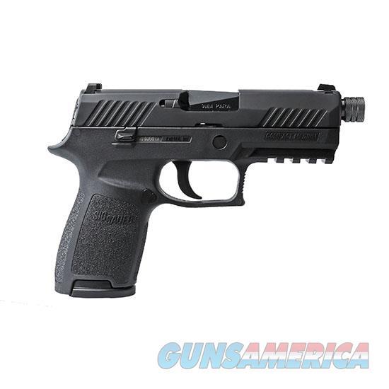 Sig Sauer P320 Compact 9Mm Blk Nitron Ns Thrd Bbl 15Rd 320C-9-BSS-TB  Guns > Pistols > S Misc Pistols