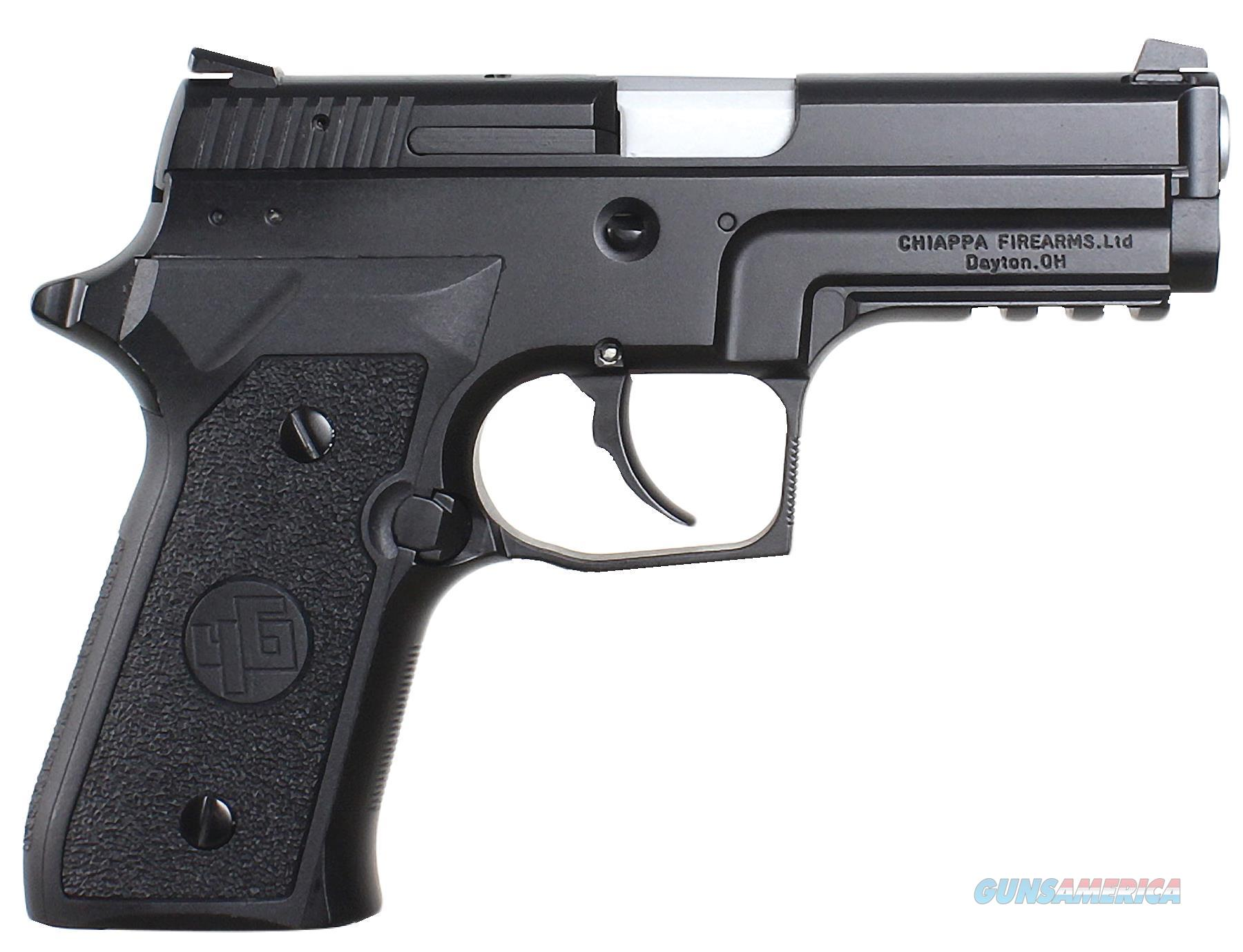 "Chiappa Firearms 440033 M27e Tactical Dao 9Mm 3.9"" 15+1 As Poly Grip Black 440033  Guns > Pistols > C Misc Pistols"
