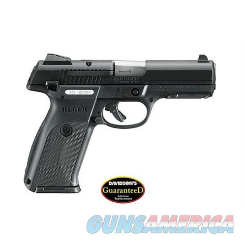 Ruger Centerfire Pistol Sr9~ 9Mm Luger 4.1'' Bbl Black 3312  Guns > Pistols > R Misc Pistols