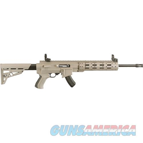 Talo 10/22 .22Lr W/Ati Ar-22 Fde Stock Collapsible Stk 15Sh RUG 21144  Guns > Rifles > TU Misc Rifles