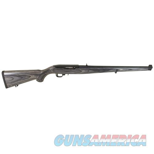 "Ruger 1133 10/22 Carbine Semi-Automatic 22 Long Rifle (Lr) 18.5"" 10+1 Laminate Black Mannlicher Stk Blued 1133  Guns > Rifles > R Misc Rifles"