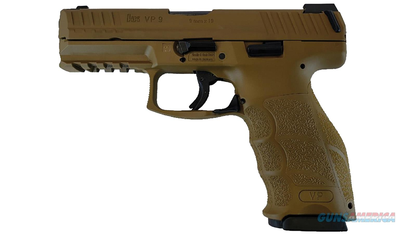 "Heckler & Koch Vp9 9Mm 4.1"" 15Rd Semi 81000182  Guns > Pistols > H Misc Pistols"