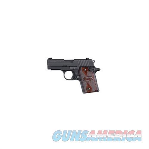 Sig P938 9Mm State Comp, Rosewood, Black Nitron Fin Slite Night 938M-9-RG-AMBI  Guns > Pistols > S Misc Pistols