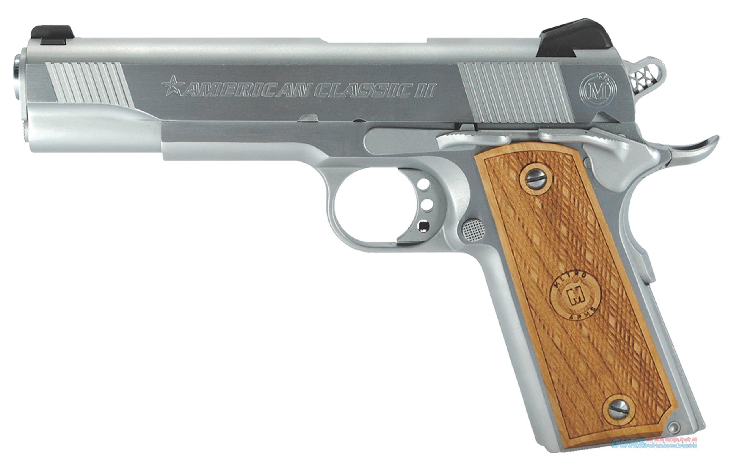 American Classic Arms Acii 45Auto 8Rd Chrome AC45G2C  Guns > Pistols > IJ Misc Pistols