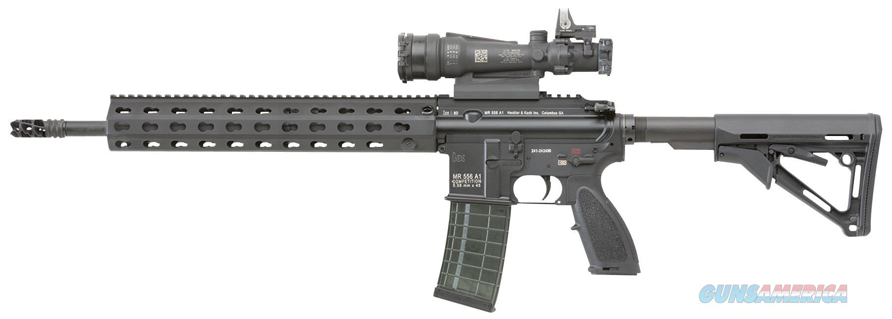 "Heckler & Koch Cr556a1 Mr556 A1 Competition Semi-Automatic 223 Remington/5.56 Nato 16.5"" Mb 30+1 Or Magpul Ctr Black Stk Black CR556-A1  Guns > Rifles > H Misc Rifles"