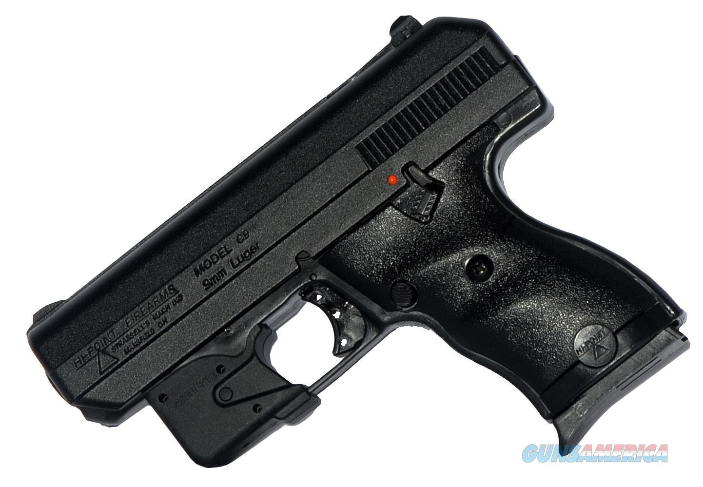 "Hi-Point 916Lltgm 9Mm With Laserlyte Single 9Mm Luger 3.5"" 8+1 Black Polymer Grip/Frame Black 916LLTGM  Guns > Pistols > H Misc Pistols"