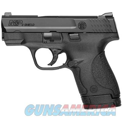 SMITH & WESSON M&P SHIELD 9MM 8RD NO SAFE 10035  Guns > Pistols > Smith & Wesson Pistols - Autos > Shield
