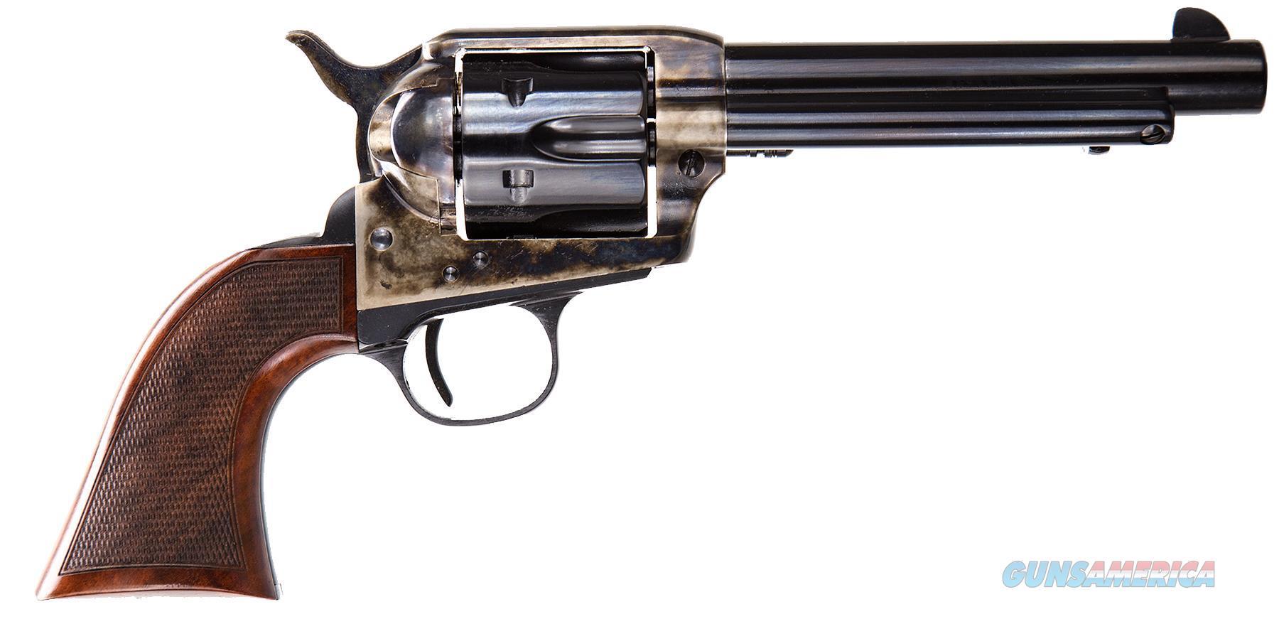 "Taylors 4108De Smoke Wagon Deluxe 357Remmag 5.5"" 6Rd Walnut Grip Ch Frame Blued 4108DE  Guns > Pistols > TU Misc Pistols"