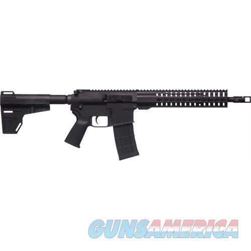 "Cmmg Mkw-15 K Pistol 458 Socom 12.5"" Bbl. 10Rd Black W/Brace 48A9E71  Guns > Pistols > C Misc Pistols"