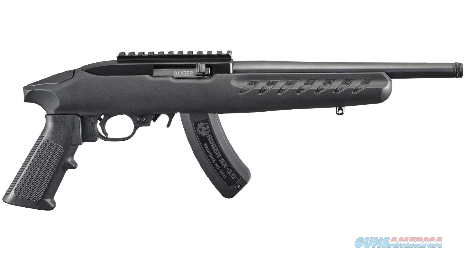 "RUGER CHARGER 22LR 10"" 15RD 4923  Guns > Pistols > Ruger Semi-Auto Pistols > Charger Series"