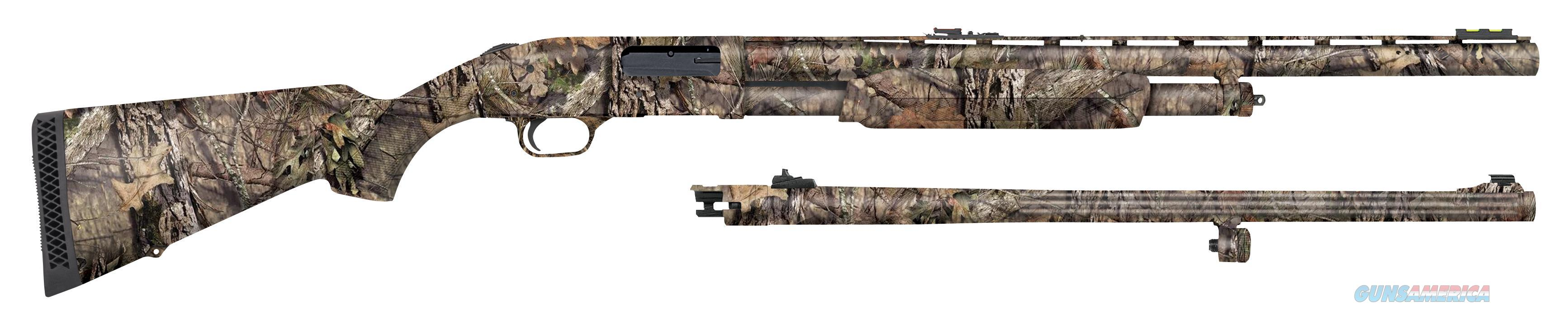 Mossberg 500 12Ga 24 Camo Turkey Deer Combo 53270  Guns > Rifles > MN Misc Rifles
