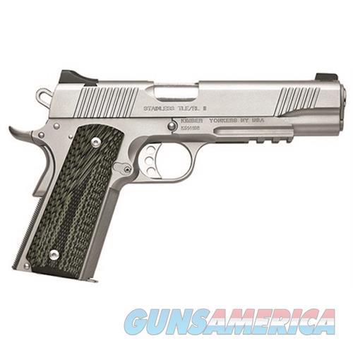 Kimber 45Acp Stainless Tle/Rl I KIM3200343  Guns > Pistols > K Misc Pistols