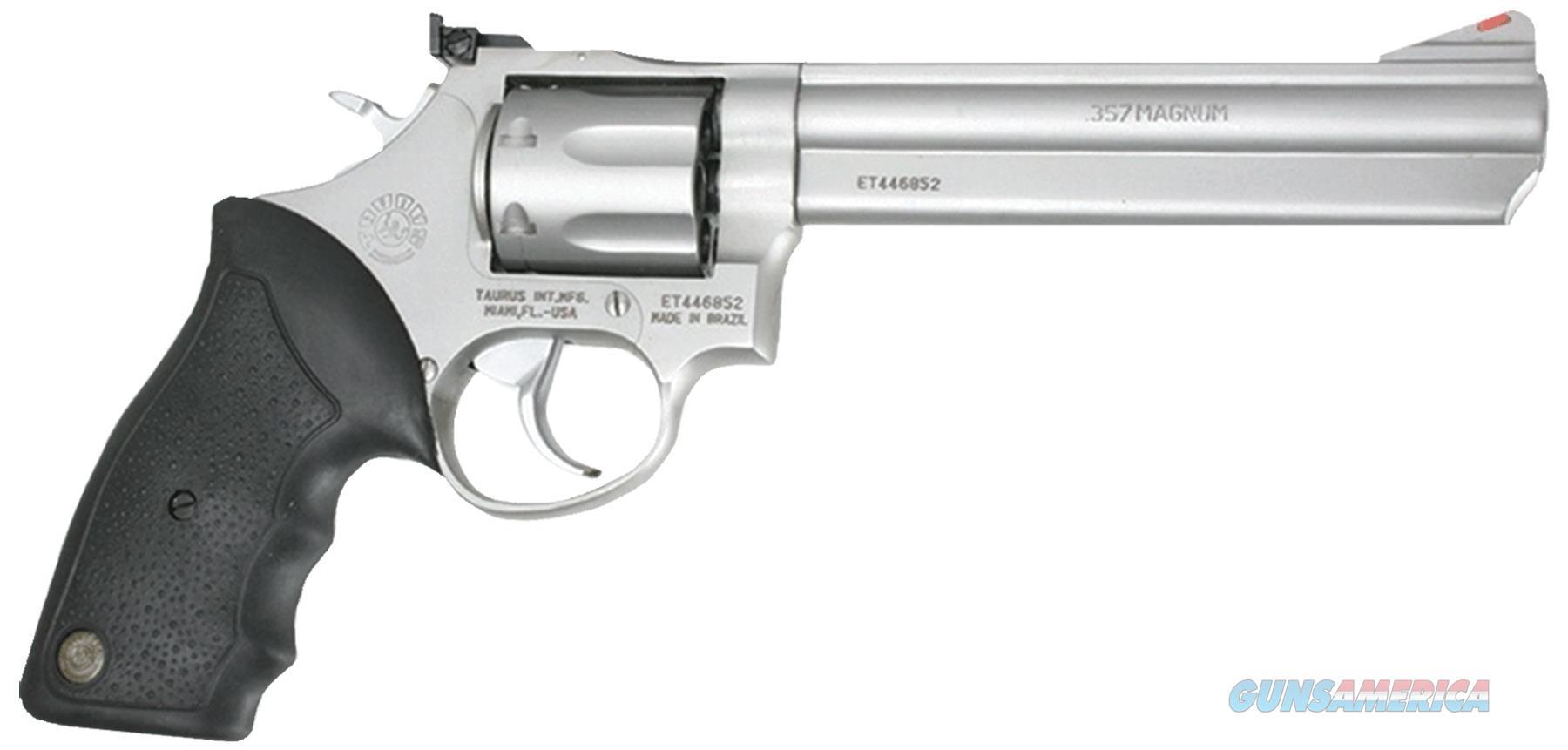 """Taurus 2660069 Mod 66 357 Remmag 6"""" 7Rd Adj Sight Blk Syn Grip Matte Ss 2-660069  Guns > Pistols > TU Misc Pistols"""