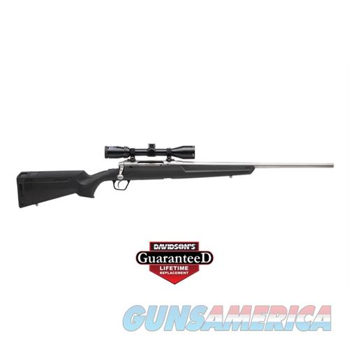 "Savage Arms Axis Xp S/S .308 22"" 3-9X40 Ss/Black Syn Ergo Stock 57291  Guns > Rifles > S Misc Rifles"