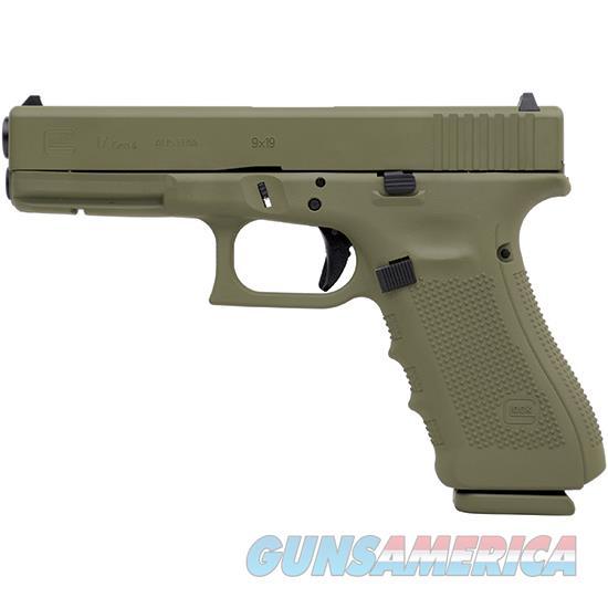 Glock 17 Gen4 9Mm 4.49 Bazooka Green Cerakote PG1750203BG  Guns > Pistols > G Misc Pistols
