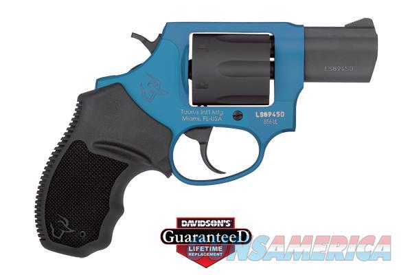 Taurus 856 Ultra Lite 38Spl 2 Azure Blk 6Rd 2-856021ULC09  Guns > Pistols > TU Misc Pistols