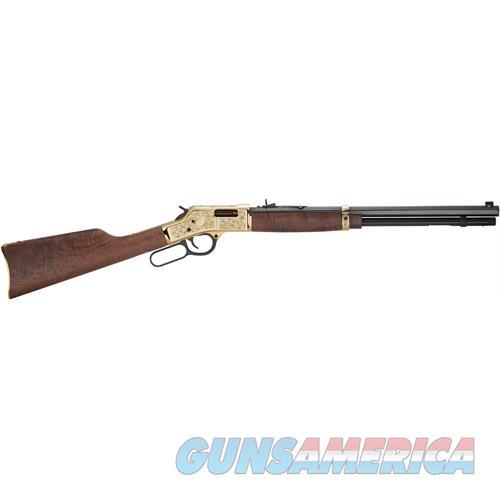 "Henry H006md3 Big Boy Deluxe Engraved 3Rd Edition 357 Magnum/38 Special Lever 357 Magnum/38 Special 20"" 10+1 Walnut Stk Blued Barrel/Brass Receiver H006MD3  Guns > Rifles > H Misc Rifles"