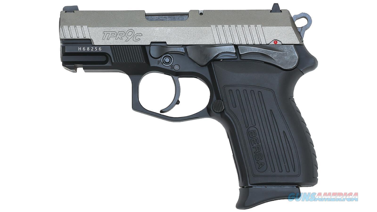 "Eagle Imports/Bersa Trp9cdt 9Mm 3.25"" 13Rd TPR9CDT  Guns > Pistols > E Misc Pistols"