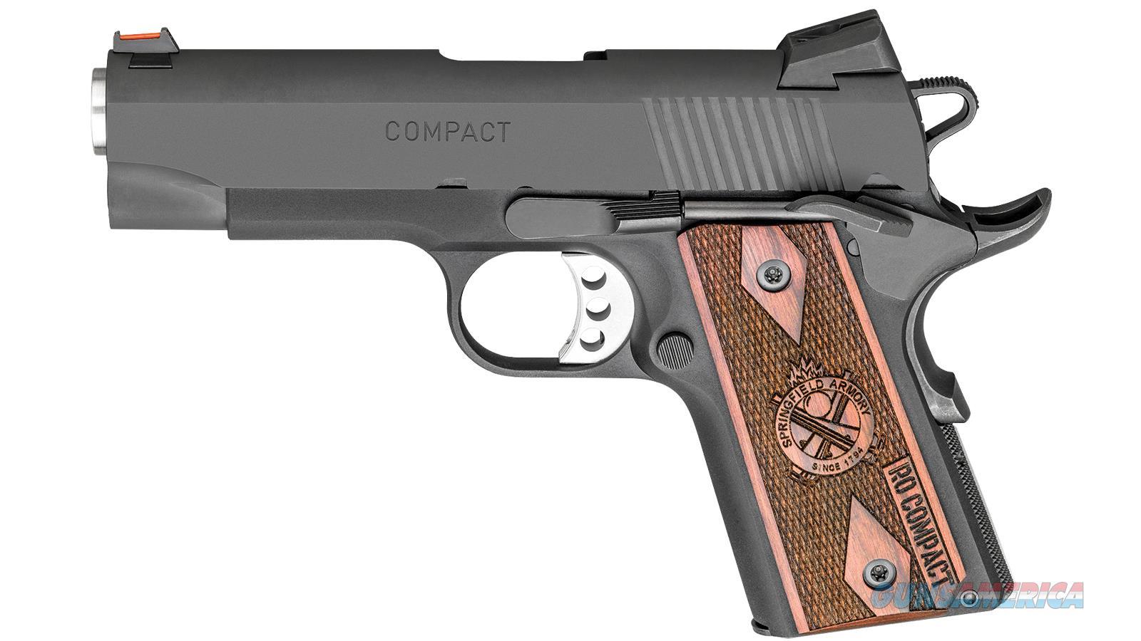 Springfield Armory 1911 9Mm Ltwt Comp Range Officer Blk PI9125L  Guns > Pistols > S Misc Pistols