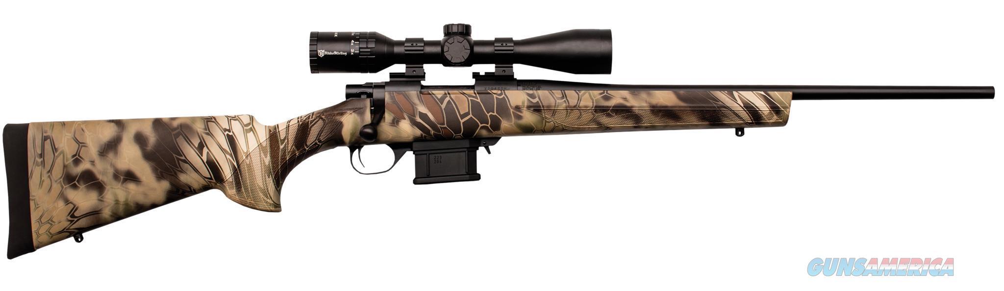 "Howa Hmp60202khc Mini Action Combo Package Bolt 223 Remington 22"" 10+1 Synthetic Kryptek Highlander Stk Blued HMP60202KHC  Guns > Rifles > H Misc Rifles"