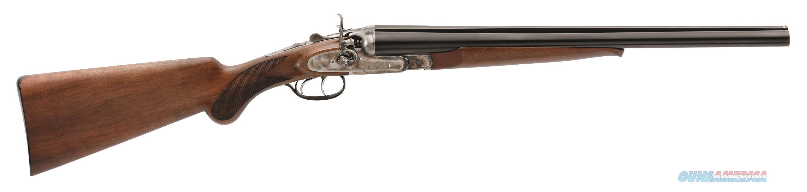 "Taylors And Company S70712ns Wyatt Earp No Stamp Side By Side 12 Gauge 20"" 2.75"" Walnut Stk Case Hardened Rcvr Blued Barrel S70712NS  Guns > Rifles > TU Misc Rifles"
