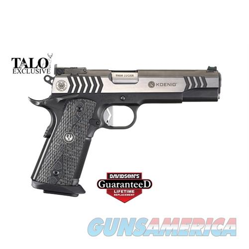Ruger Sr1911-Dk Comp 9Mm 10Rd Tl 6766  Guns > Pistols > R Misc Pistols