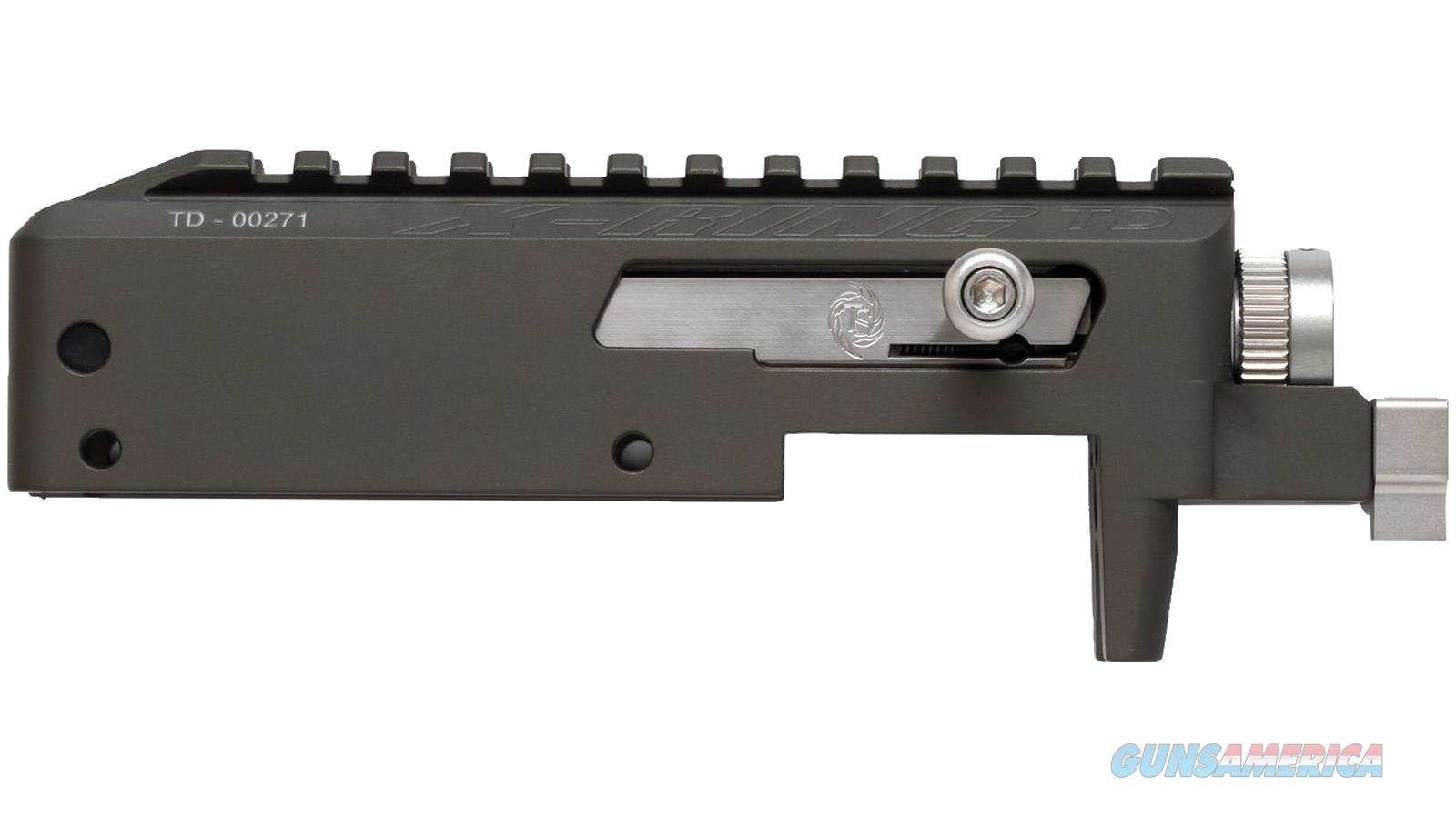 Tactical Solutions Receiver 10/22 Takedown X-Ring Matte Odg (No Trigger) XRTD-MOD  Guns > Rifles > TU Misc Rifles
