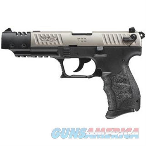 Walther Arms P22 Tgt 22Lr 5 Nkl Ca Legal 5120337  Guns > Pistols > W Misc Pistols