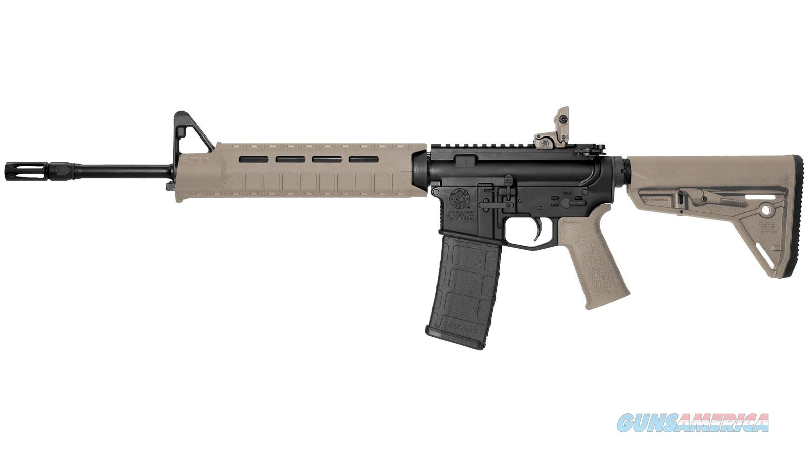 SMITH & WESSON M&P15MOE SL MID 5.56 16 MAGPUL SPEC FDE 30RD 11513  Guns > Rifles > S Misc Rifles
