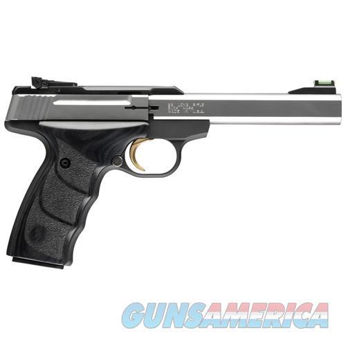 "Browning Buck Mark Ms Plus Udx .22Lr 5.5"" As 10-Shot Stainless ! 051427490  Guns > Pistols > B Misc Pistols"