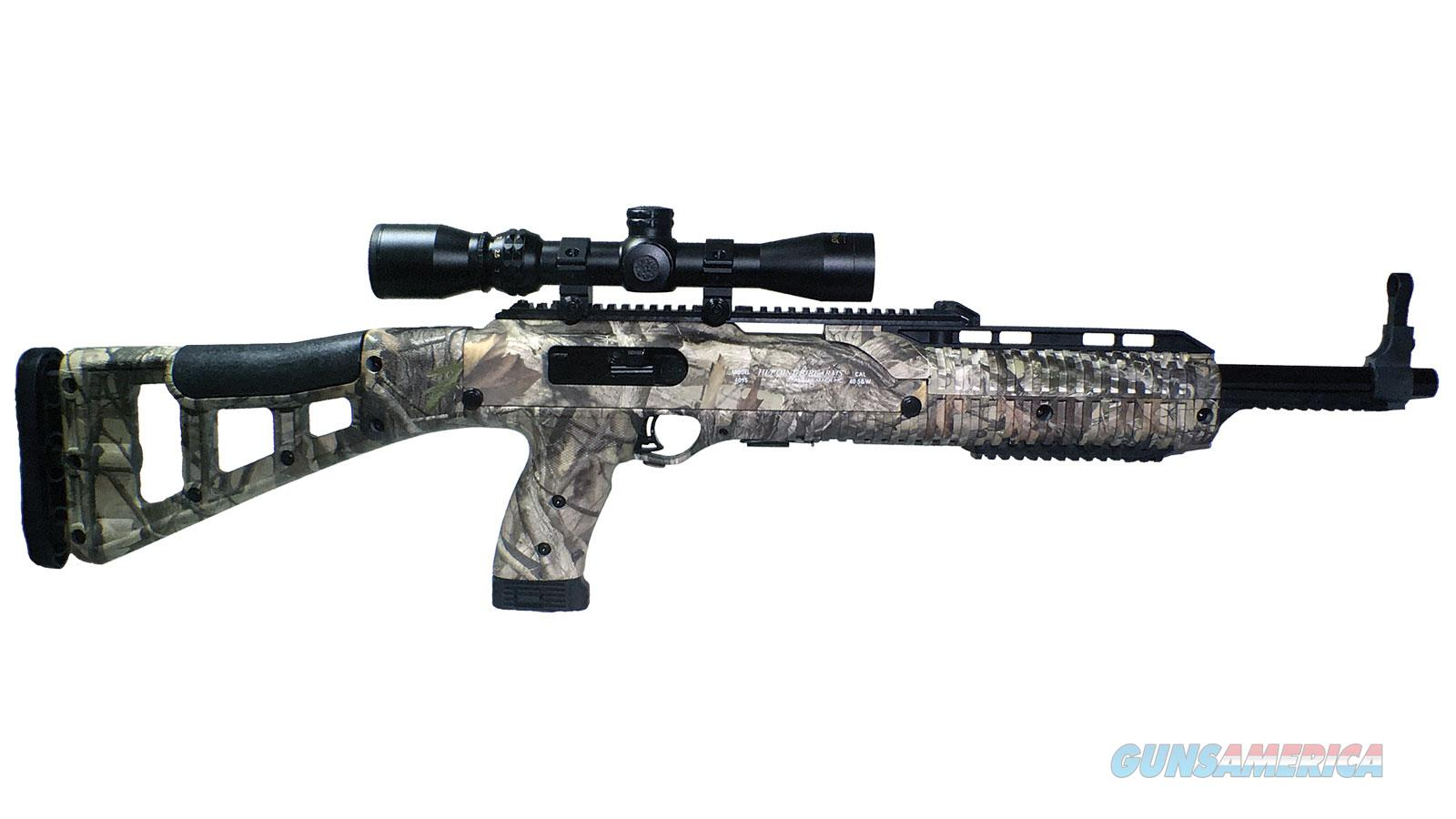 Hipoint Carbine 9Mm Luger Woodland Camo W/1.5-5X32 Scope 995WC HUNTER  Guns > Rifles > H Misc Rifles