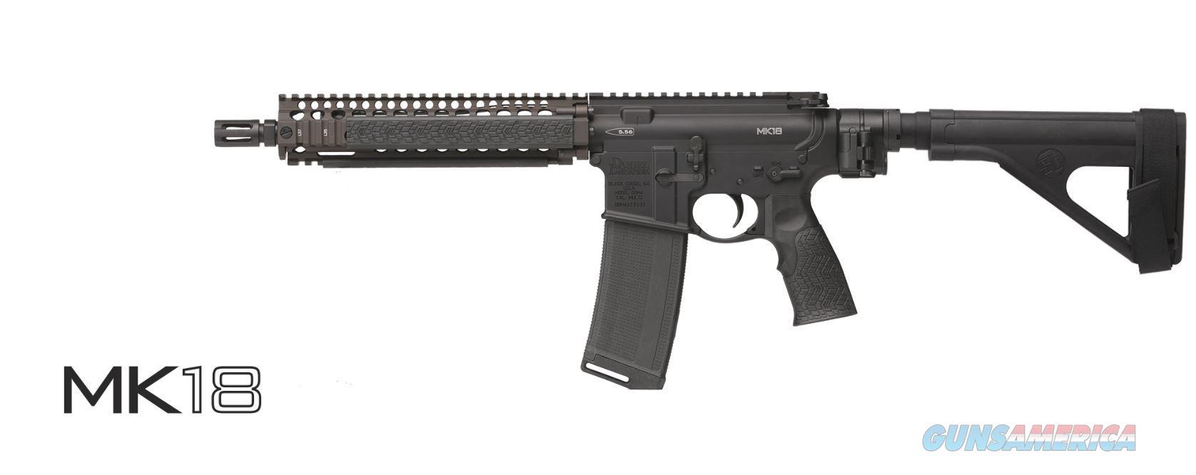 Daniel Defense Ddm4 Mk18 Pstl 223/5.56 02-088-22038  Guns > Pistols > D Misc Pistols