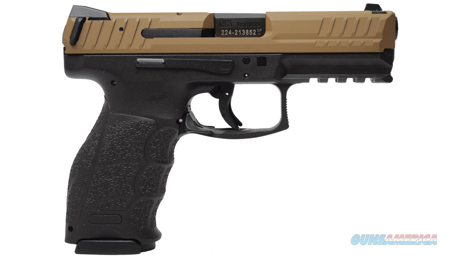 """Heckler & Koch Vp9 9Mm 4.1"""" 15Rd Semi 81000135  Guns > Pistols > H Misc Pistols"""
