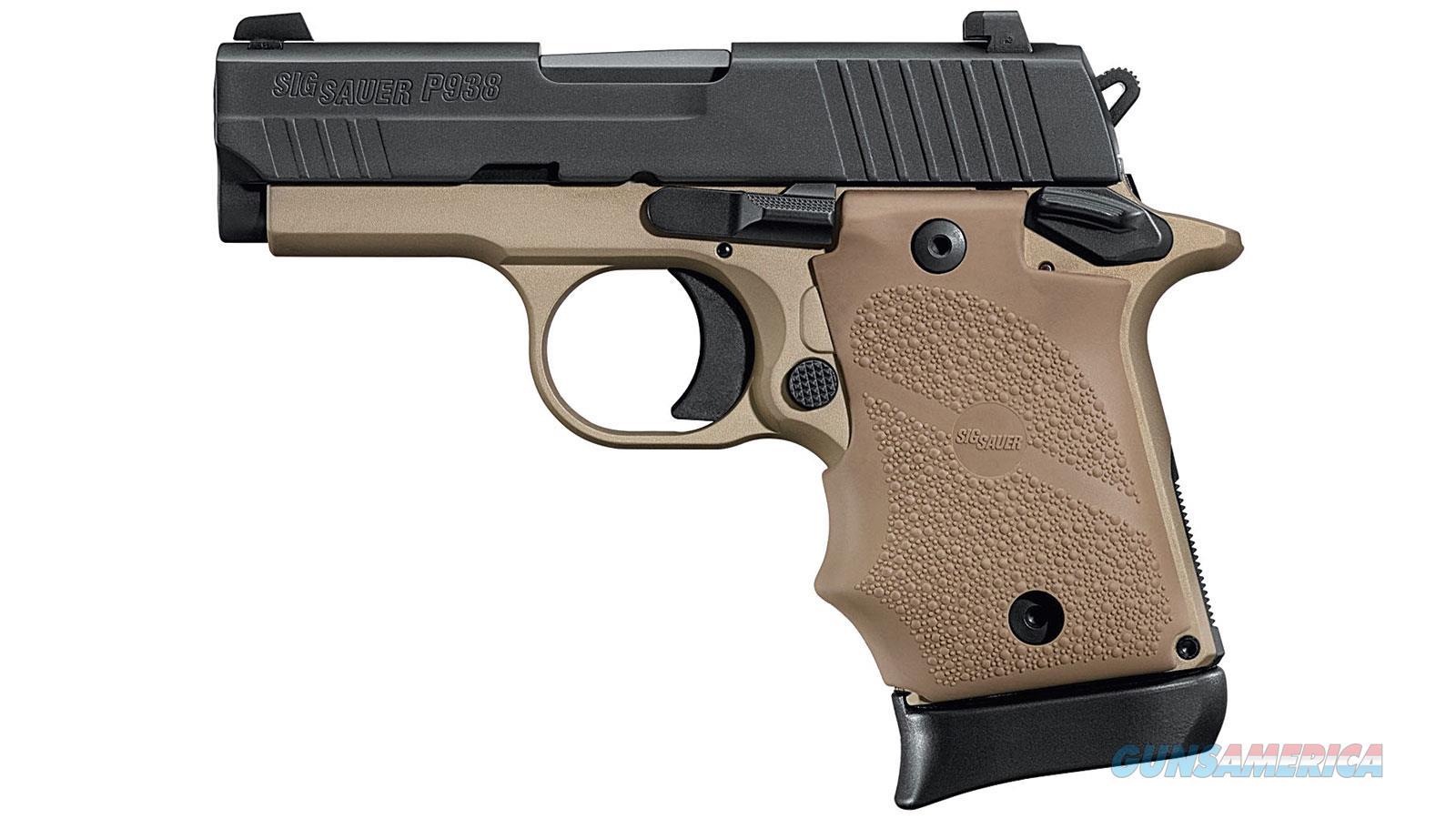 """Sig Sauer 938-9-Cbt 9Mm 3"""" 7Rd 938-9-CBT  Guns > Pistols > S Misc Pistols"""