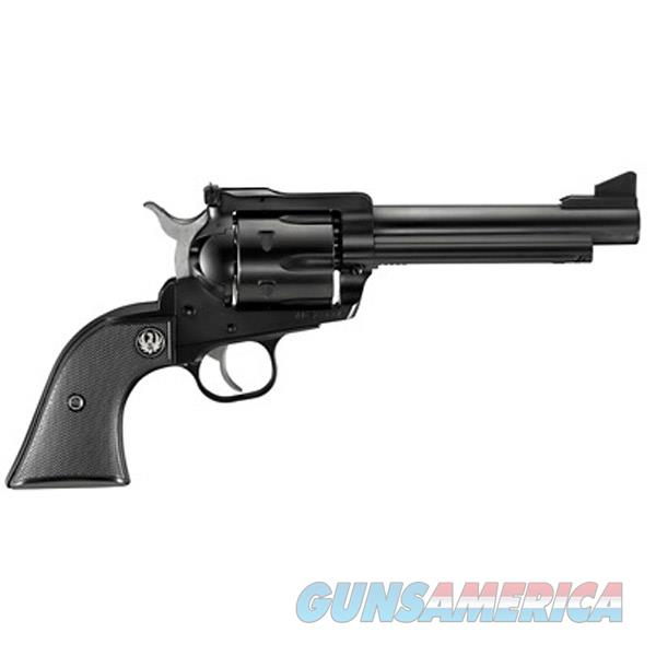Ruger Blackhawk Revolver 45 Lc, 5.5 In, Checkered Hard Rubber Grp, 6 Rnd, Std Blued Frame, Std Trgr 0465  Guns > Pistols > R Misc Pistols
