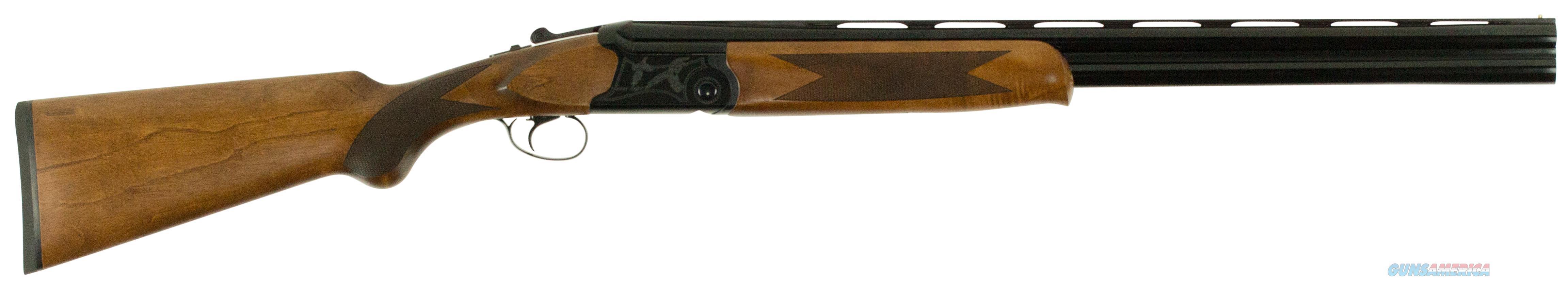 """Dickinson Oahntr Oa Over/Under 12 Gauge 26"""" 3"""" Wood Stk Black/White Aluminum Alloy OAHNTR  Guns > Rifles > D Misc Rifles"""