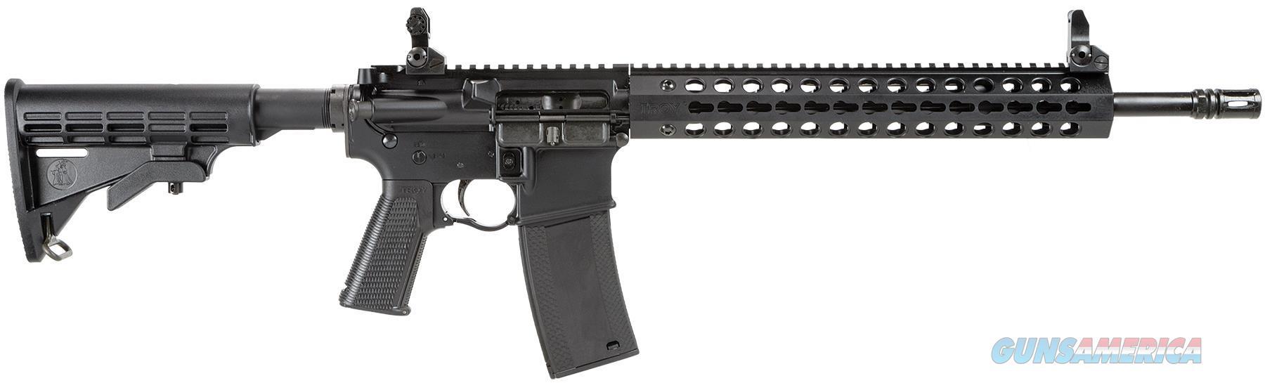"Troy Scarsp316bt Special Purpose Carb A3 Sa 223/5.56 16"" 30+1 6-Pos Col Stk Blk SCAR-SP3-16BT-00  Guns > Rifles > TU Misc Rifles"