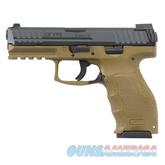 Heckler & Koch Vp9 9Mm 4.09 Fde 15Rd M700009FDE-A5  Guns > Pistols > H Misc Pistols