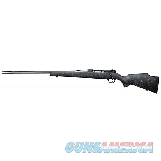 """Weatherby Mamm257wl6o Mark V Accumark Bolt 257 Weatherby Magnum 26"""" 3+1 Synthetic Black W/Gray Spiderweb Stk Fluted Stainless Steel MAMM257WL6O  Guns > Rifles > W Misc Rifles"""