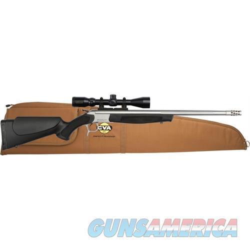 "Cva Scout V2 Outfit 444 Marlin 25"" Bbl Ss/Black W/3-9X40 CR4913SSC  Guns > Rifles > C Misc Rifles"